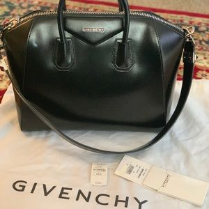 Authentic Black Givenchy large antigona purse